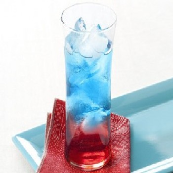 red white blue cocktail