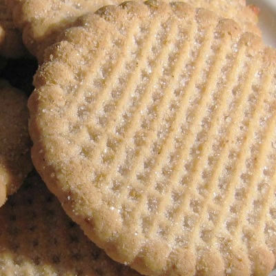 cookies with grid