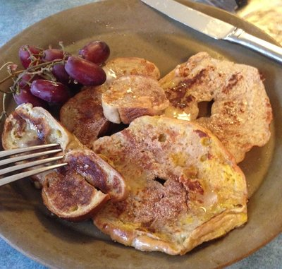 bagel french toast