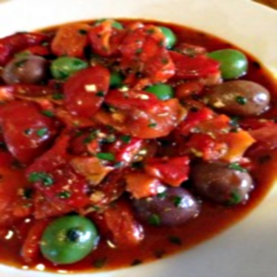 Roasted Pepper and Olive Salad