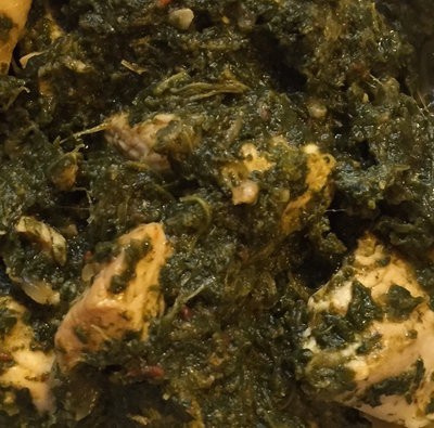 Turkey Saag