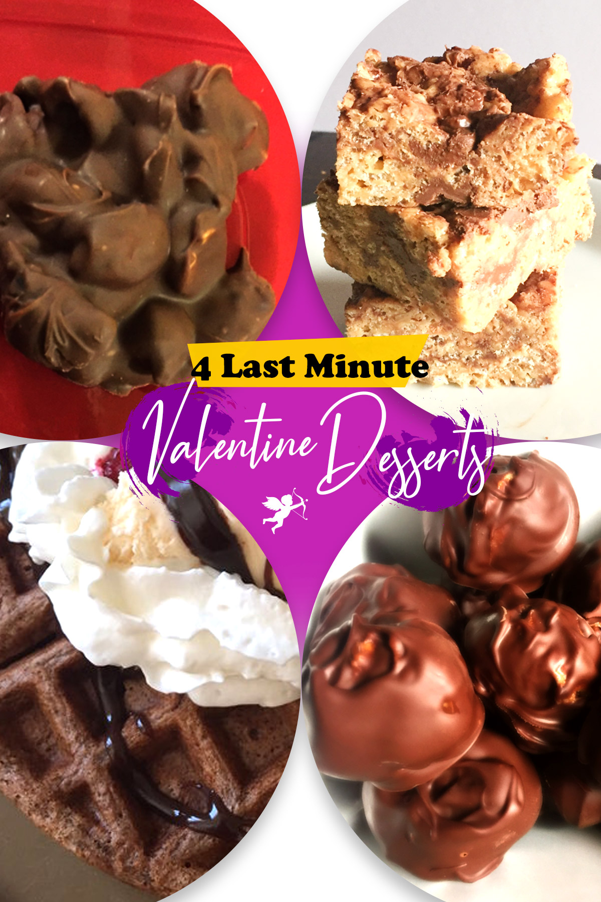 Even though today is Valentine's Day, you can easily make one of these four sweet treats to surprise your special someone.