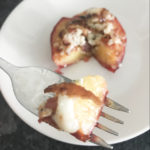 Caramelized Peaches with Bacon & Blue Cheese 3