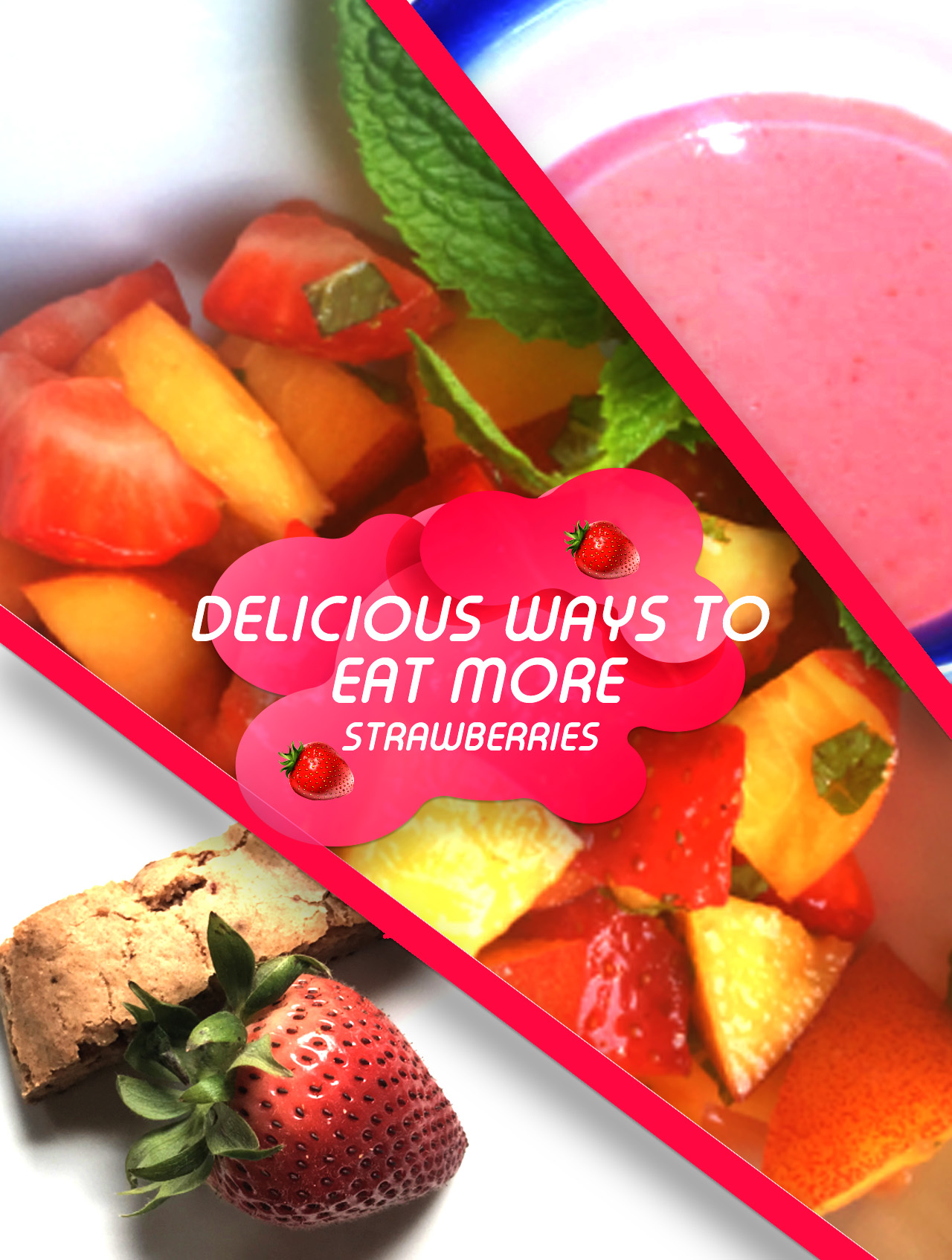3 recipes that feature strawberries