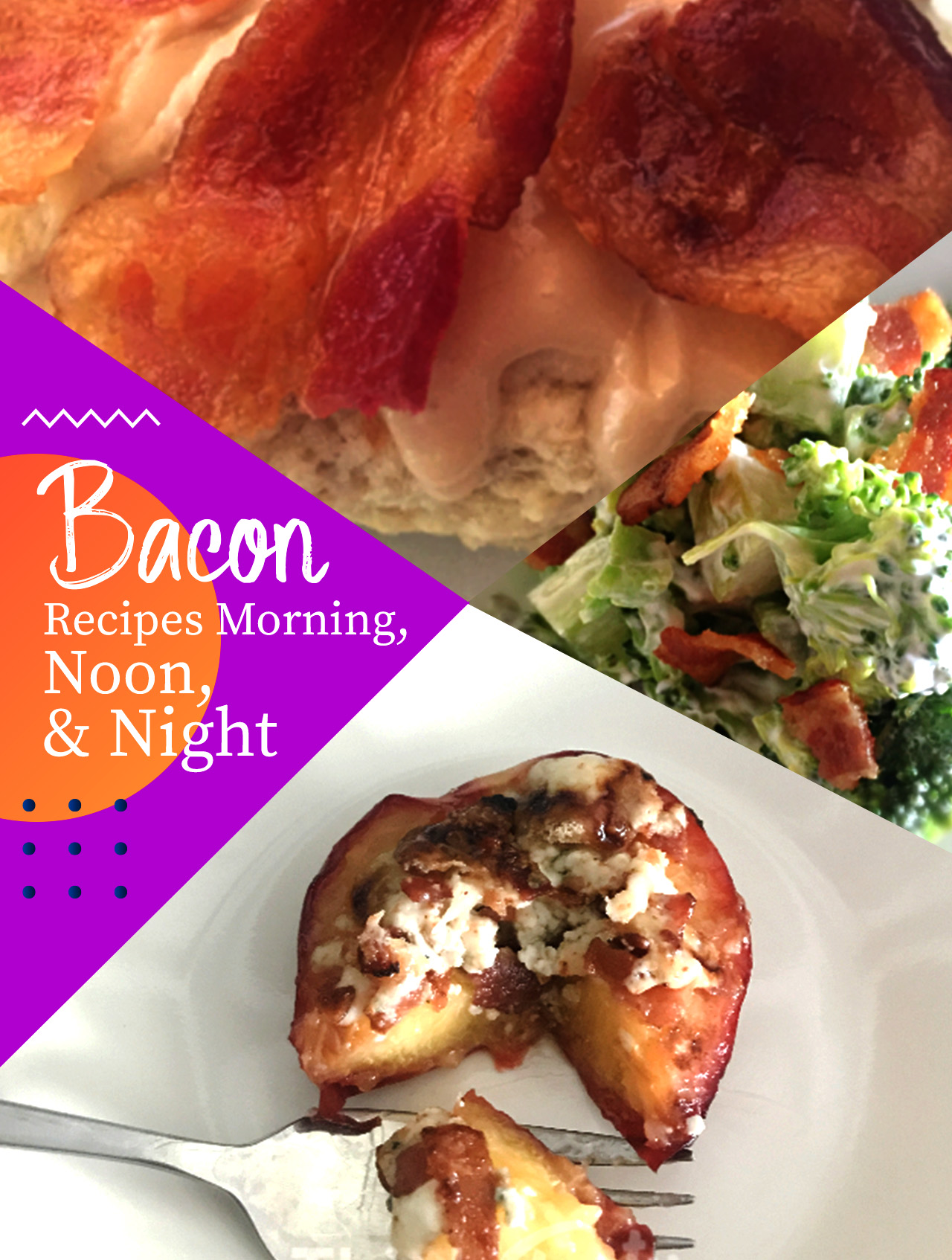 bacon dishes for all day long