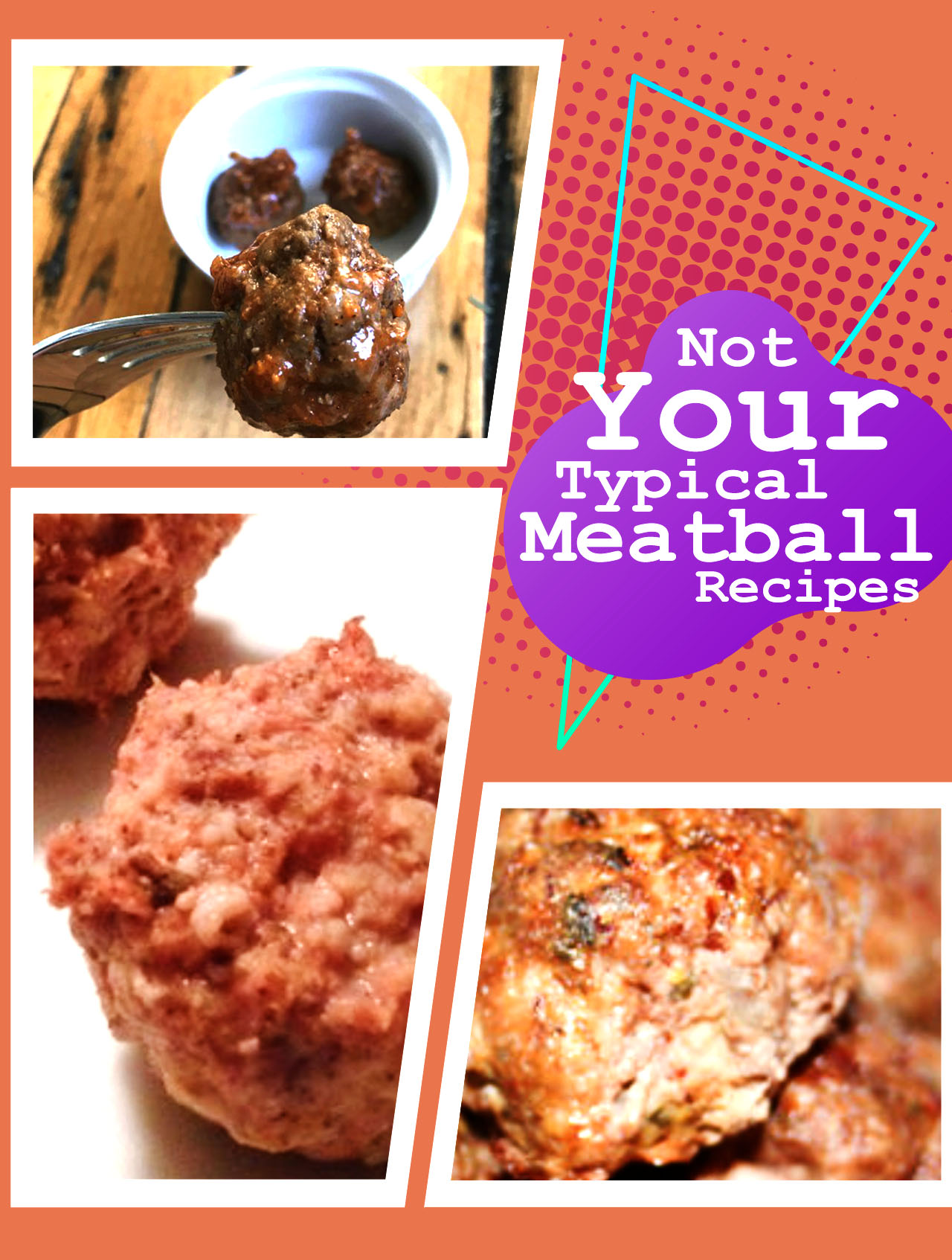 3 different meatball recipes