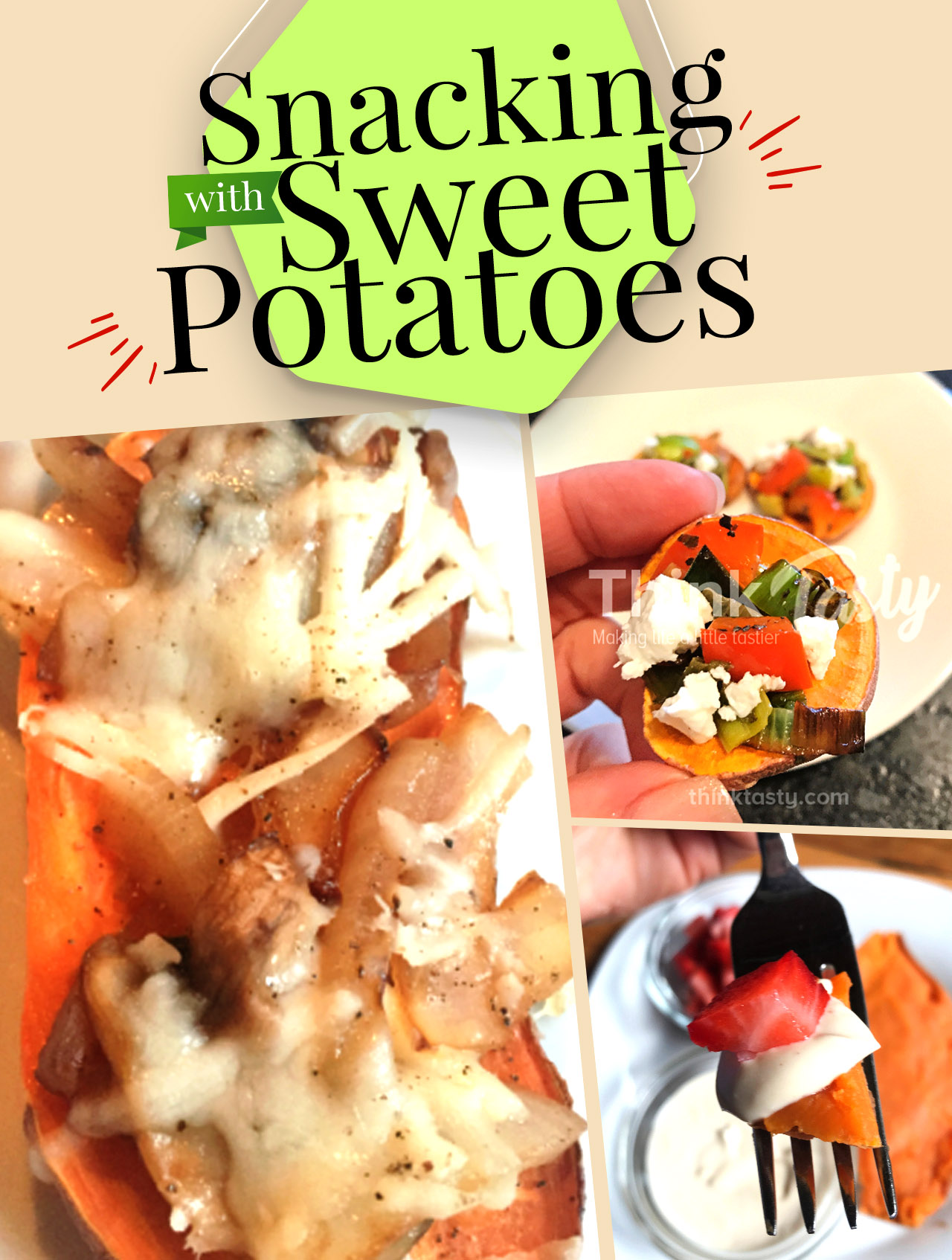 appetizers made with sweet potatoes