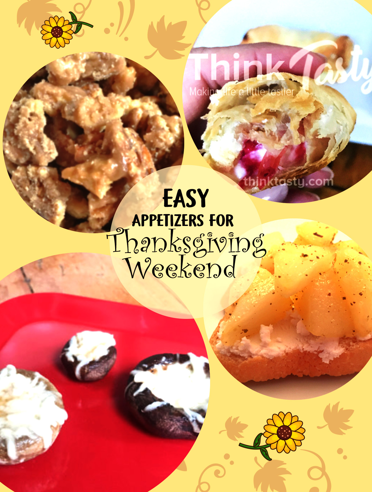 Easy Appetizer Recipes for Thanksgiving Weekend