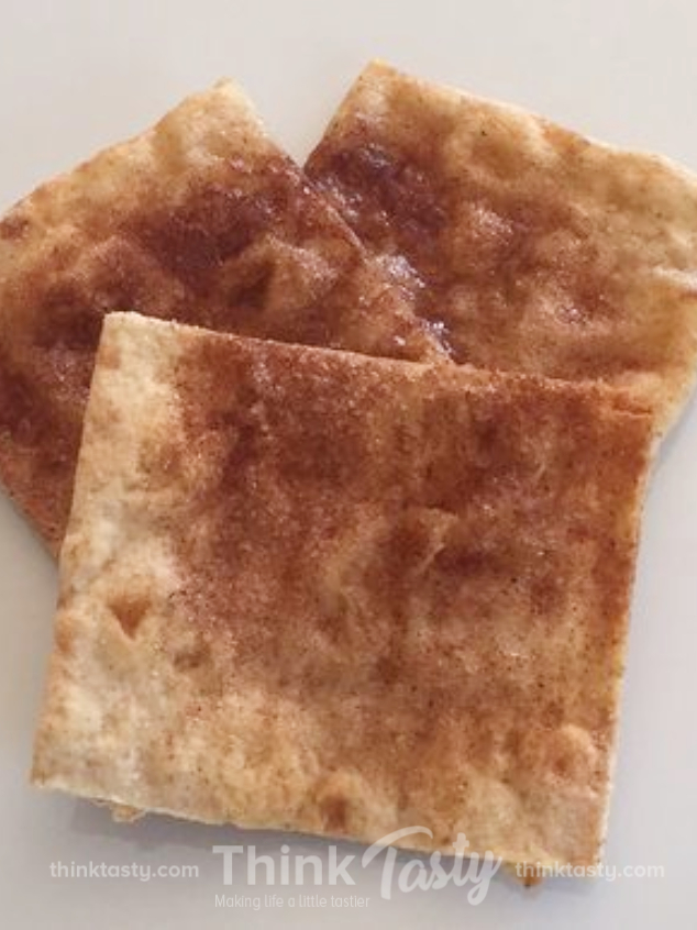 homemade cinnamon sugar crackers