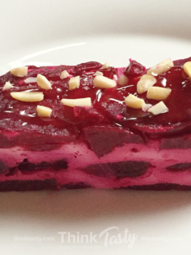 roasted beet terrine