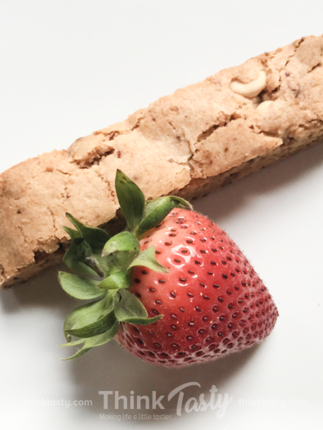 Sweet as a Summer Day Strawberry Biscotti