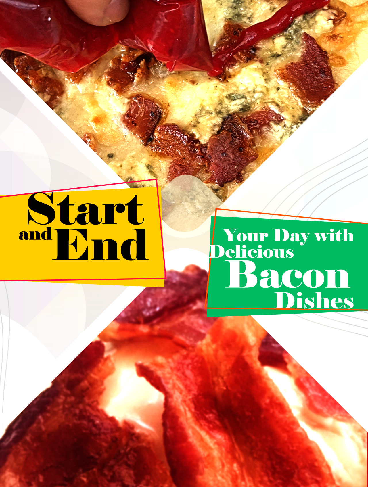 2 bacon recipes